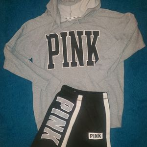 Pink outfit size small